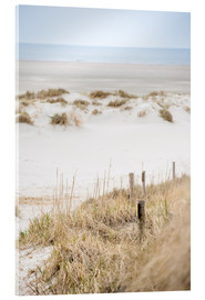 Akrylglastavla  German sea (St. Peter Ording) - gn fotografie