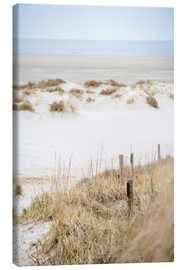 Canvastavla  German sea (St. Peter Ording) - gn fotografie