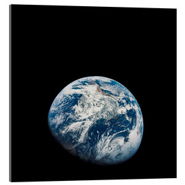 Akrylglastavla  Earth from the viewpoint of Apollo 8