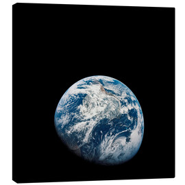 Canvastavla  Earth from the viewpoint of Apollo 8 - Stocktrek Images