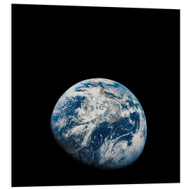 PVC-tavla  Earth from the viewpoint of Apollo 8
