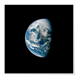 Premiumposter View of the Earth from the spacecraft Apollo 13