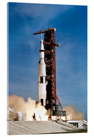 Akrylglastavla  Apollo 11 space vehicle taking off from Kennedy Space Center - Stocktrek Images