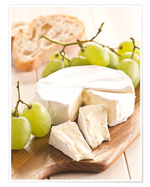 Premiumposter  French soft cheese - Edith Albuschat