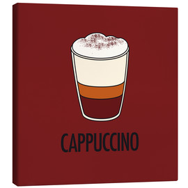 Canvastavla  Cappuccino, for the italian lover in you! - JASMIN!