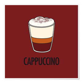 Premiumposter Cappuccino, for the italian lover in you!