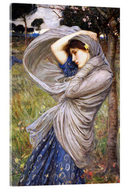 Akrylglastavla  Boreas - John William Waterhouse