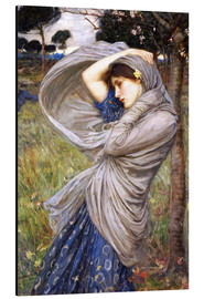 Aluminiumtavla  Boreas - John William Waterhouse