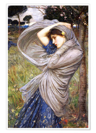 Poster  Boreas - John William Waterhouse