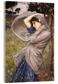 Trätavla  Boreas - John William Waterhouse