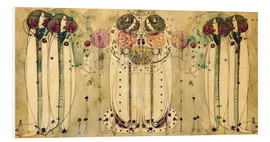 PVC-tavla  The Wassail - Charles Rennie Mackintosh