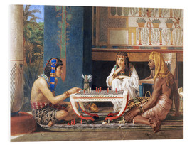 PVC-tavla  Egyptian Chess Players - Lawrence Alma-Tadema
