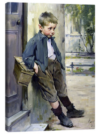 Canvastavla  Out of the Game - Henri Jules Jean Geoffroy