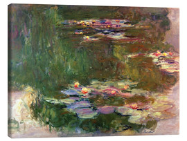 Canvastavla  The lily pond - Claude Monet