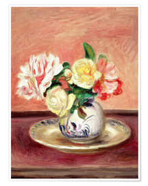 Premiumposter Vase of Flowers