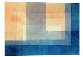 PVC-tavla  House on the Water - Paul Klee