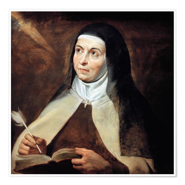 Premiumposter Saint Teresa of Avila