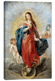 Canvastavla  Immaculate Conception - Peter Paul Rubens