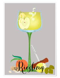 Premiumposter Riesling