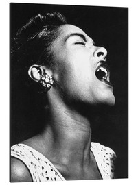 Aluminiumtavla  Billie Holiday