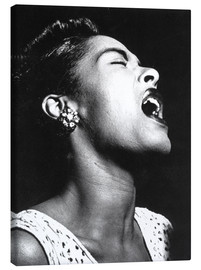 Canvastavla  Billie Holiday