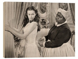 Trätavla  Gone With The Wind, 1939