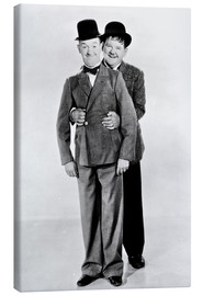 Canvastavla  Laurel & Hardy