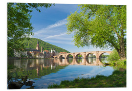 PVC-tavla  Heidelberg in spring - Jan Christopher Becke