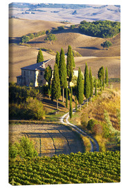 Canvastavla  Belvedere House in San Quirico - Terry Eggers