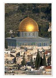 Premiumposter  Jerusalem and the Dome of the Rock - David Noyes