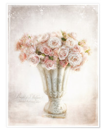 Poster  romantic roses - Lizzy Pe