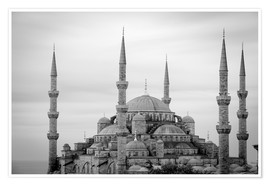 Premiumposter  the blue mosque in Istanbul / Turkey - gn fotografie