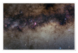 Premiumposter The Heart of the Milky Way - Constellation Sagittarius