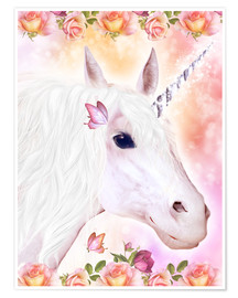 Poster Loving Unicorn