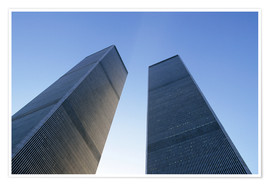 Premiumposter  Twin Towers of the WTC - Sue Cunningham