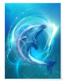 Premiumposter  Dolphin Energy - Dolphins DreamDesign