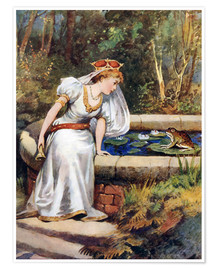 Poster  The Frog Prince - William Henry Margetson