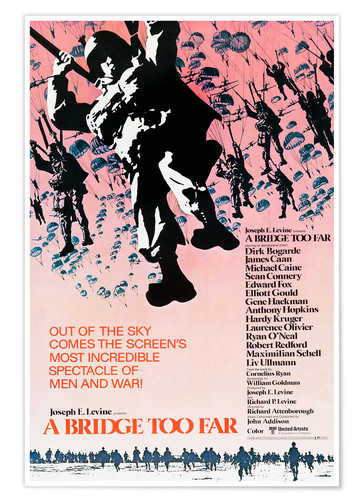 Premiumposter A Bridge Too Far, 1977