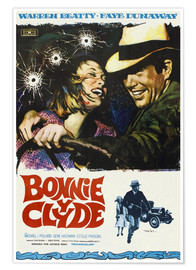 Premiumposter BONNIE AND CLYDE, on Spanish