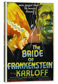Canvastavla  The Bride of Frankenstein