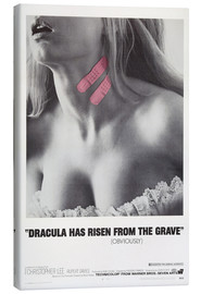 Canvastavla  Dracula Has Risen from the Grave