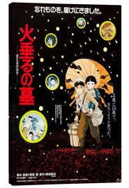 Canvastavla  Grave of the Fireflies