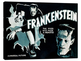 Canvastavla  Frankenstein