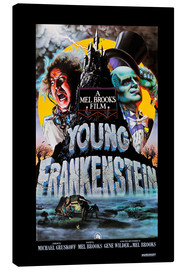 Canvastavla  Young Frankenstein, Gene Wilder, Peter Boyle, 1974