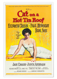 Premiumposter Cat on a Hot Tin Roof