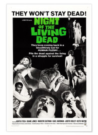 Premiumposter  Night of the Living Dead