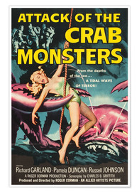 Premiumposter  Attack of the Crab Monsters