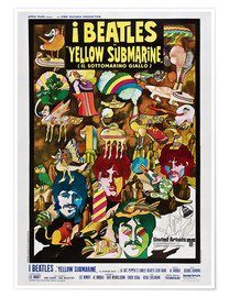 Poster  The Beatles, Yellow Submarine