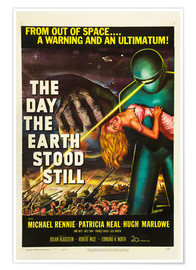 Premiumposter  The Day the Earth Stood Still