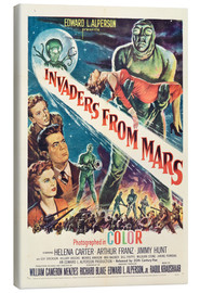 Canvastavla  Invaders from Mars